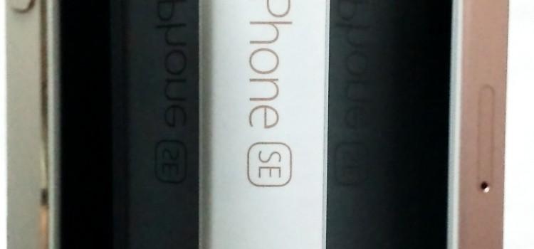 iPhoneSEに「iPhone5用」として販売されていた激安アンチグレア保護フィルムを貼ってみた
