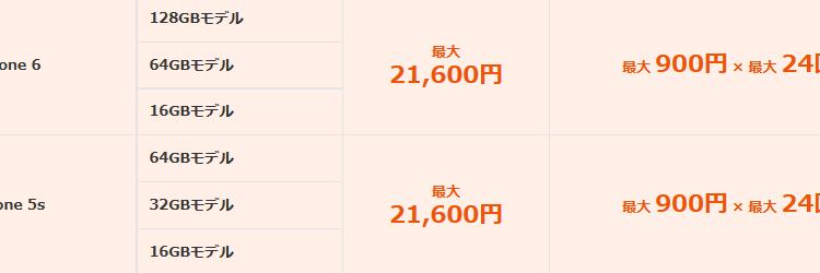 11月10日~ au下取りプログラムが大幅劣化  価格変更対象一覧