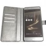 ZenFone3 Ultra用手帳ケースレビュー (ZU680KL) お手軽な横スタンドタイプ