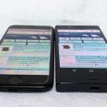 [レビュー]4.6インチ vs. 4.7インチ ドコモのコンパクトスマホ Xperia X Compact SO-02JとiPhone7の外観比較