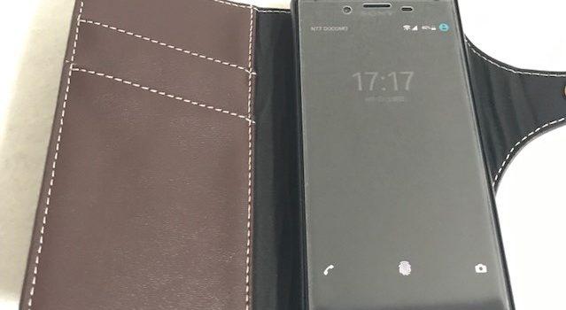 [レビュー]Xperia X Compact SO-02J用の1000円以下で買える手帳ケース TOMSKYE製スタンドタイプ