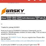 iPhone修理パーツが買えるSunsky 中華通販の登録・注文・支払い・キャンセル方法