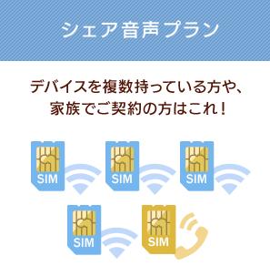 イオンモバイルの契約数上限 同一名義で契約できるSIMカード数について