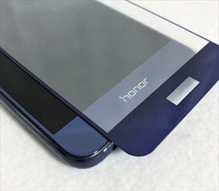 Huawei honor8のデザインを損なわないオススメクリアケース&端が浮かない全面ガラスフィルム