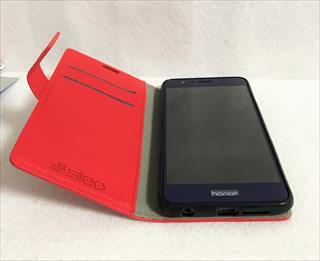 Huawei Honor8用の手帳ケースも買ってみた SLEO 軽量で1000円以下の低価格アクセサリー