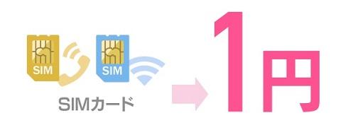 イオンモバイルの夏キャンペーン 1円で音声回線追加&10分かけ放題オプション半額425円に