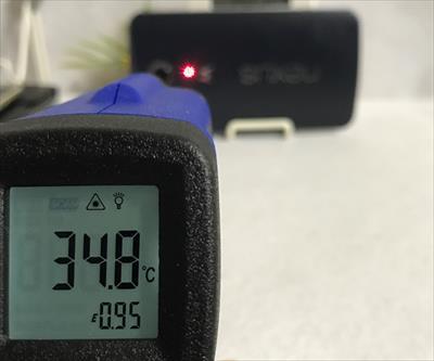 発熱したスマホで低温火傷のキケンも!放射温度計を使ってスマホの温度を物理的に測る方法