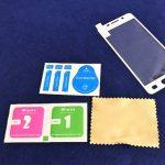 [レビュー]ドコモウィズ機種 Galaxy Feel SC-04J用おすすめ保護ガラスフィルム 隅まで貼れる全面保護タイプ