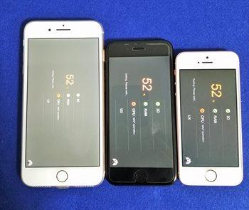 iPhone 8 Plusは連続でゲームをしてもモッサリしない!発熱もiPhone7に比べて穏やか