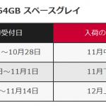 ドコモがiPhoneXの入荷状況を公開 予約日から在庫入荷スケジュールが確認可能に