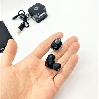 カナル型完全ワイヤレスイヤホンGLIDiC Sound Air TW-5000レビュー 利用可能時間と装着感