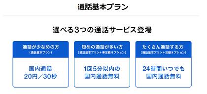 2018年9月6日~ ソフトバンク新料金「通話基本プラン」 従来のスマ放題との違い