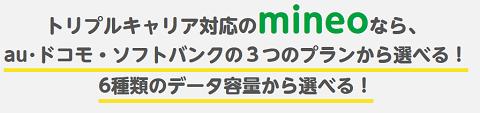 格安SIM mineoのソフトバンク回線サービススタート 半年無料で使える先行予約・月額333円プランあり