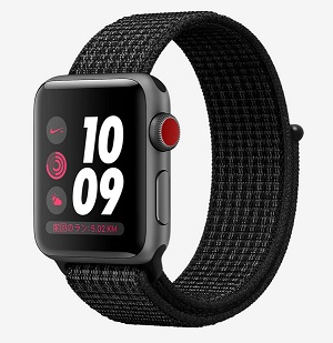 型落ちApple Watch Series3(セルラー)ナイキモデルをNIKE公式セールで安売り!