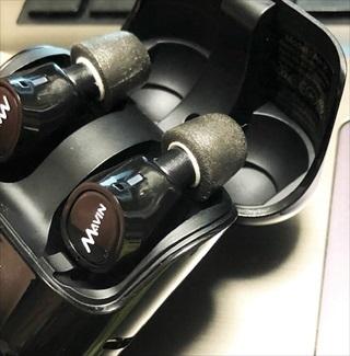 1回の充電で10時間連続再生可能な完全ワイヤレスイヤホン MAVIN Air-X購入レビュー 利用可能なイヤーピースは?