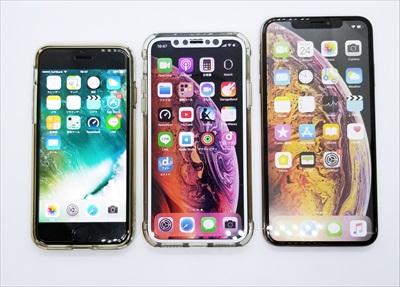 ドコモiPhone XS 新規契約も端末購入サポート化で一括値下げ 4.7インチ~6.5インチまで選べる料金