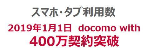 2019年5月で月額1500円永年値引きのdocomo with終了 月額280円維持回線を作るラストチャンス
