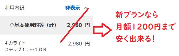[1回線でも可能]ドコモ新料金プランを使ってスマホ利用最安2980円→1200円へ安くする裏技