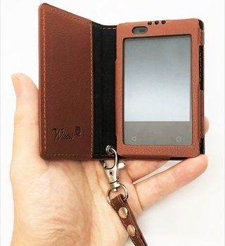 """マグネットがいい感じ!ドコモカードケータイKY-01Lの""""携帯""""に便利なミニサイズな手帳ケースを買ってみた"""