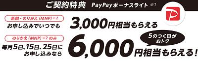 ワイモバイルの2019年10月新料金プランでお得に契約する方法 PayPayボーナスやキャッシュバックが貰える特典条件