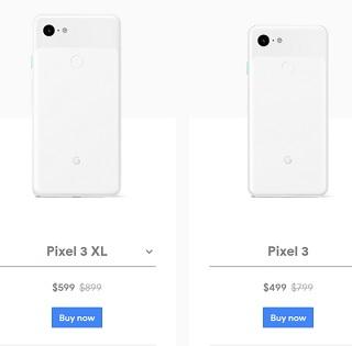 Google Pixel4登場でPixel3を300ドル値下げ(約3.3万円) ドコモはPixel 3aに1.1万円端末購入割引を導入