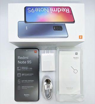 [購入レビュー]楽天自社回線対応予定  Redmi Note9S評価 2万円台のSDM720G搭載機スペック・機能