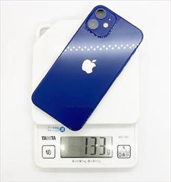 [購入&実機貼り付けレビュー]iPhone12mini背面ガラスの指紋・反射を抑えるさらさら・マット質な保護フィルム