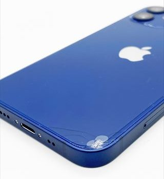[実写]iPhone12miniをコンクリートに落下させると簡単に割れる-画面・ガラス割れ、傷の付き方